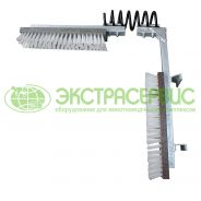 Scratching brush for cows (G-shaped), passive